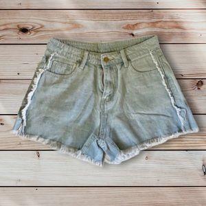 🎉 NWOT Denim Raw Hem Shorts